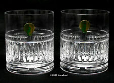 Waterford Barware - Double Old Fashioned - 12oz NWT Set of 2