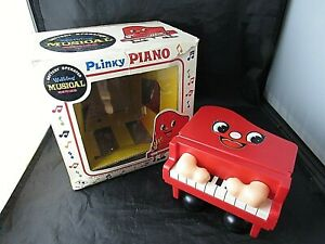 Plinky Piano with Box Battery Operated -- Does Not Work  -- Lot 12
