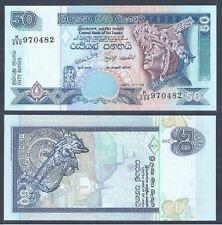 Sri Lanka Banknote 50 Rupee 2005 (UNC) 全新 斯里兰卡 50卢比 2005年 K/250 970482