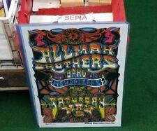 Allman Brothers Poster 2000'S Vintage 11 X 17 In Top Loader Concert Board Dead