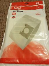 Genuine Hoover Type S Allergen Media Vacuum Bags - 3 pack