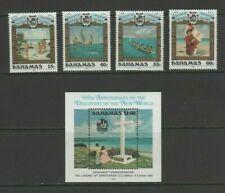 Bahamas 1992 Discovery of America by Columbus Mint MNH Set + Sheet