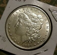 1884 Morgan Silver Dollar EF-AU