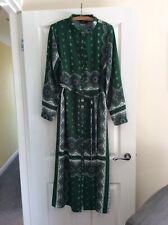 Papaya Ladies Shirt Dress Long Sleeves Size 16 Stunning Dress Green