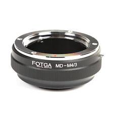 Minolta MD MC Lens to Olympus Panasonic 4/3 Micro Four thirds Mount Adapter Ring