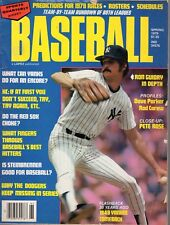 1979 Sports Quarterly Baseball magazine, Ron Guidry, New York Yankees ~ Fair