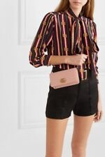Gucci Marmont Mini Quilted Leather Baby Pink  Shoulder Bag $980