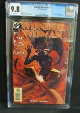 Wonder Woman #187  (2003) Adam Hughes Cheetah Cover   CGC 9.8 R445
