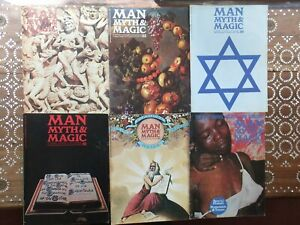 Man Myth and Magic magazines x 12 occult Supernatural Paranormal