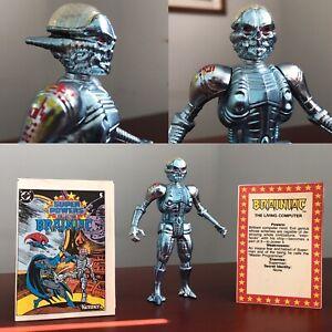1984 VTG SUPER POWERS BRAINIAC 100% Original & Complete Figure DC COMICS KENNER