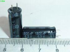 100PCS 6.3V1800UF FL 8X20 Panasonic Electrolytic capacitor Motherboard Low ESR
