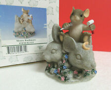 Charming Tails ~ McKenzie Mouse Rushmore ~ Fitz Floyd Limited Edition Figurine