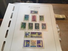 East Germany Used Stamps Sets Circ 1970