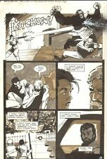 Planet of the Apes #16 p 9 - Malibu Comics - 1991 art by M.C. Wyman