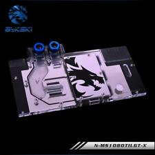 Bykski N-MS1080TILGT-X GPU Block for MSI GTX 1080Ti LIGHTNING Z