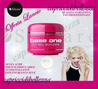 GEL BIANCO FRENCH 15g BASE ONE SILCARE W2 BIANCO NEVE RICOSTRUZION UNGHIE