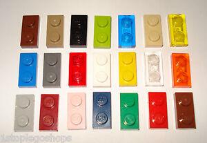 Lego x10 Flat Plates 2x1 Studs - Multiple Variations!  Part Nr - 3023 / 6225