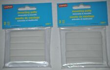 2 Packages of Staples Removable & Reusable White Mounting Putty, 20877