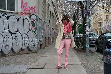 Kleine Dame ASCO Berlin Mantel wollweiß 80/90s True VINTAGE women coat off white