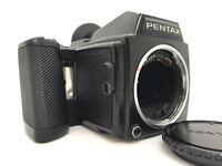 PENTAX 645 Film Camera body 220 Film Back from Japan [Exc+++]