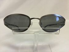 Big Star Sunglasses BSG609 Silver Metal Gray Lenses Wrap Funky Cool Fun