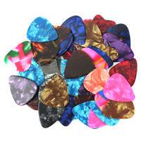 Lots of 144PCS Assorted Thin Medium Acoustic Electric Bulk Guitar Picks Plectrum