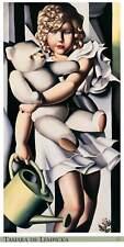 Tamara de Lempicka Portrait de Mlle POUM Rachou póster son impresiones artísticas imagen 100x50cm