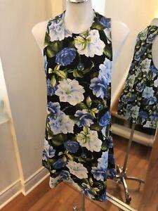 AMERICAN APPAREL Floral Sleeveless Mini Dress Size S Retail $105