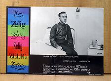 ZELIG fotobusta poster affiche Woody Allen Mia Farrow Camaleonte 1983 C27