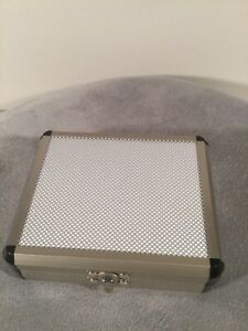 Small Aluminum Briefcase Silver Color With Latch Look Very Nice