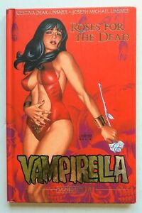 Vampirella Roses For The Dead Signed S&D HC Dynamite Graphic Novel Comic Book