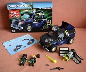 Playmobil Top Agents 4878 Robo Gangster SUV komplett mit OVP + Anleitung *TOP*