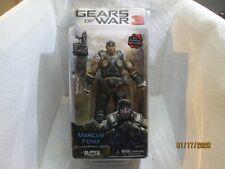 Gears of War NECA Marcus Fenix Figurine avec lancer et snober pistolet