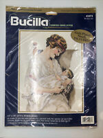 Bucilla 42073 The Great Love Counted Cross Stitch Bessie Pease Gutmann Vtg New