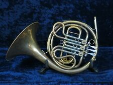 Bruno Majestic Single F French Horn Ser#01945 Plays Well Needs Re-Solders