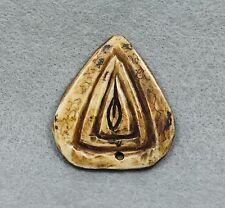 Carve Yoni Phra LP Pina Lucky Love Charm Thai Buddha Amulet Talisman Fetish