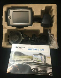 "Cobra NAV ONE GPSM 2100 Portable Mobile Navigation System w/ 3.5"" Screen"
