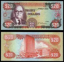 XM.111} JAMAICA 20 dollars 1991 XF