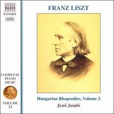 Liszt: Hungarian Rhapsodies, Vol.13, New Music