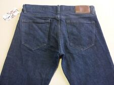 026 MENS NWT QUIKSILVER SKINNY FIT DK BLUE STRETCH JEANS 32 SHORT $150.