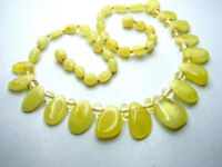 REAL BALTIC AMBER LADIES' NECKLACE EGG YOLK