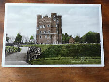 Lot85d TATTERSHALL Castle Red Brick Tower LINCOLNSHIRE Postcard c1941