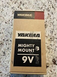 Yakima 9V OVAL Mighty Mounts for Roof Rack, 9V FOR ROOF SKI RACK NICE SEE