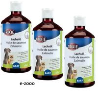 3 Piece Trixie Salmon Oil, Dog/Cat 3 x 500 Ml Value Pack