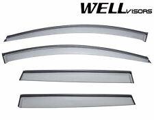 For 10-UP Volvo XC60  WellVisors Side Window Visors W/ Black Trim