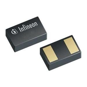 100 x Infineon ESD112B102ELE6327XTMA1, Bi-Directional TVS Diode, 2-Pin TSLP