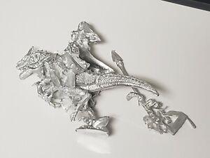 Warhammer Dragon Dinosaur Rider ? Metal Miniatures Lot #70