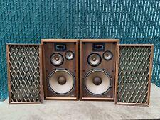 Vintage Pioneer CS-77A 4-way Floor Speakers FB Cones Great Shape!