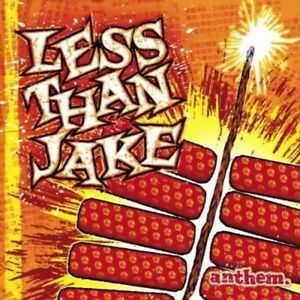 Less Than Jake Anthem LP (Translucent Fire Orange Vinyl)