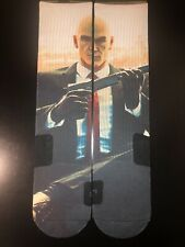 Agent 47 Hitman Custom Sublimated Elite Socks